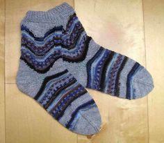 """Strickanleitung Socken """"Meerschaum"""" von Knitteltante auf DaWanda.com"""