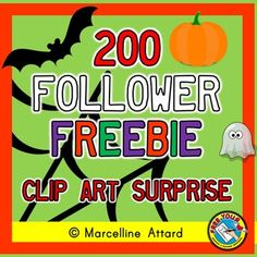 THANK YOU FOR FOLLOWING MY STORE! AS A THANK YOU I AM OFFERING THIS SET OF CLIP ART FOR FREE. IT'S A SURPRISE :)  HINT: HALLOWEEN THEMED SET!