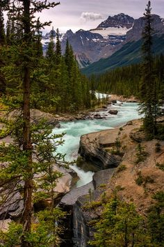 Mistaya river and canyon, Banff National Park, Alberta, Canada..Primarily I want to go for the international film festival, but wow looks like there will definitely be outdoor days!