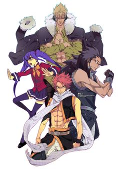 Fairy Tail's dragon slayers