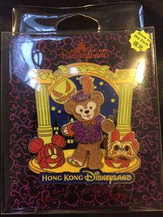 Hong Kong Disney Pin 2014 Halloween Jumbo Duffy - LE500