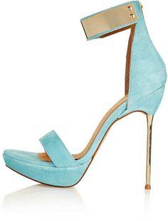 Topshop ~ Lolly Skinny Heel Sandals
