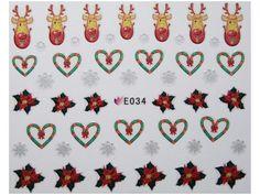 Condividi i nostri prodotti avrai uno sconto del 5 %,fai sapere che ci sei Nail Sticker Natale mod034 #originalnail