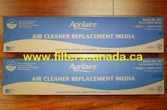 Aprilaire #401 High Efficiency Furnace Filters - 2 Pack for $64.00 Canada