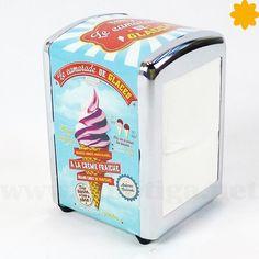 Le Camarade de Glaces El dispensador ideal para una heladería retro