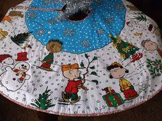 Snoopy Peanuts Schultz Charlie Brown Handmade Fabric