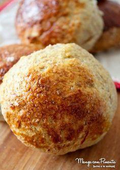 Receita de pão integral de batata doce, para ver a receita, clique na imagem para ir ao Manga com Pimenta.