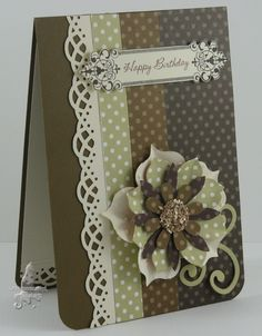 Stamps:  S/U's Creative Elements  Card and Papers:  Soft Suede, River Rock, Very Vanilla, DSP Paper Pack - Neutrals  Ink: Early Espresso