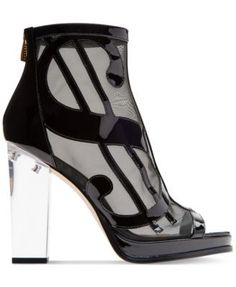 Katy Perry Richie Novelty Booties - Black 5.5M