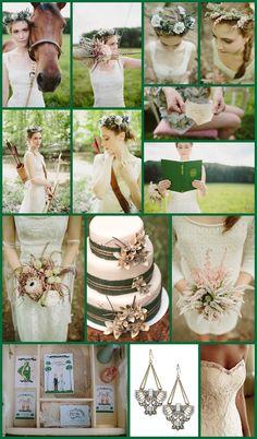 Robin Hood Inspired Wedding Details - 2013