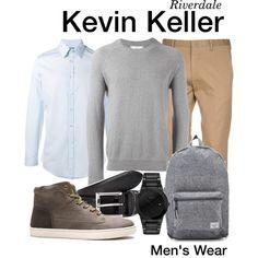 Riverdale Kevin, Riverdale Set, Cute Outfits, Menswear, Men Clothes, Actors, Polyvore, Netflix, How To Wear