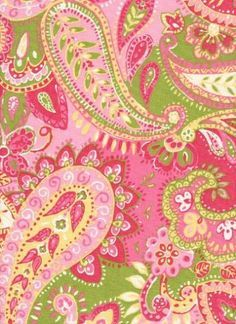 This is a beautiful paisley print in extra wide multi-use fabric... Perhaps baby sis needs some new curtains too?
