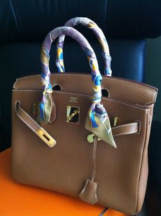 knock off birkin - Bags with Scarves on Pinterest | Hermes, Tying A Scarf and Clubhouses