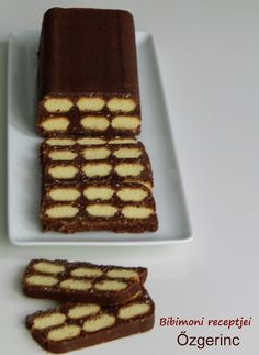 Őzgerinc Cheesy Recipes, Sweet Recipes, Cake Recipes, Dessert Recipes, Hungarian Desserts, Hungarian Recipes, Sweet Cookies, Sweet Treats, Salty Snacks