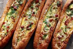 egg boats recipe