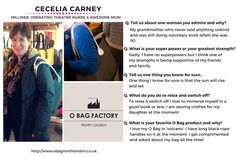 Our #WCW this week is Cecelia Carney!  We are so thrilled that Cecelia shared her experiences with the #Obag London community!