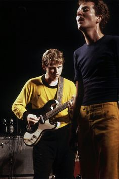 Ricky Wilson and Fred Schneider performing with 'B52's' at Freeborn Hall in Davis California on October 1 1979