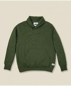 Penfield - Dunstone Shawl Sweatshirt - Green