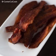 baked bacon 2.jpg ~ ~ ~  starting with a COLD oven is the secret