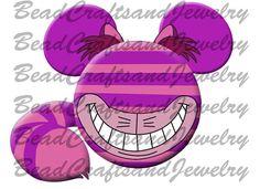 Digital Iron on Transfer Alice in Wonderland Cheshire cat inspired Mickey Disneyland Shirts, Disney Shirts, Disney Christmas, Christmas Diy, Christmas Ornaments, Disney Ideas, Disney Pins, Disney Home, Disney Cruise