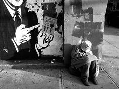 Homeless , loneliness , New York