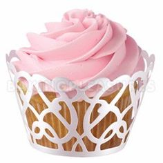 Love the muffin tin and the way the top looks like a rose!