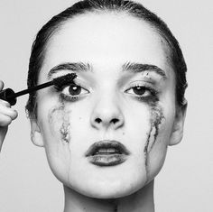 Tears by Tyler Shields. Buy photographer Tyler Shields prints for sale online or visit art gallery in NYC Emotional Photography, A Level Photography, Conceptual Photography, Dark Photography, Photography Projects, Portrait Photography, Tyler Shields, Identity Art, Creative Portraits