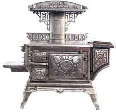 antique miniature stove