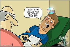Ja ne gebeur gereeld. Afrikaanse Quotes, Laughter, Family Guy, African, Humor, Comics, Funny, Fictional Characters, Medicine