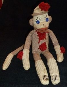 Sock puppy toy vintage was