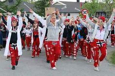 Norway's Crazy High School Tradition Puts Other Teens Around The World To Shame Constitution Day, Cali Style, Scandinavian Fashion, My Roots, Legging, My Heritage, A 17, Norway, Boho Chic