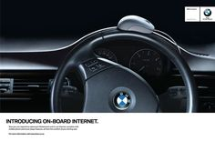 BMW onboard internet sees the return of an iconic bmw image- with a twist