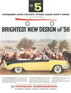 1956 Chrysler Ad