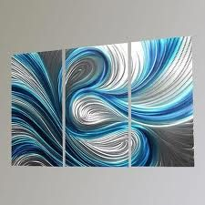 turquoise wall art - Google Search