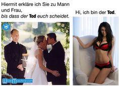 Bis dass der Tod euch scheidet - Ehe Witze, Funny Marriage