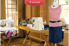 Estudio de costura #materiales #ideas #costura #maquinas – Singer México