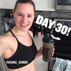 Never give up on yourself. Consistency and hard work WILL pay off. Giving up will not get you anywhere!!! Today was day 30 of drinking Shakeology so far in 2016 - it still continues every day to surprise me!! I am not craving chocolate or any sweets like I used to - and it's also fuelling my body with over 70 superfoods and other dense nutrition!! Email me today to join my next challenge! One day left to save big $$ on my favourite program that taught me what proper eating and portion…