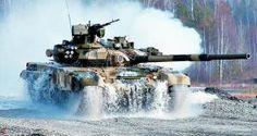 Rússia poderá fornecer tanques T-90S ao Peru