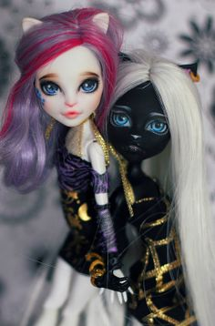 monster high cats custom by Mariya Khorizina
