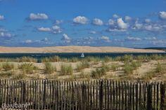 Dune du Pilat vista des de Cap Ferret França