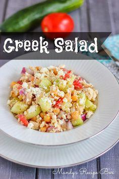 Greek Salad | Mandy's Recipe Box
