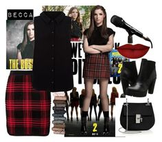 """""""Pitch Perfect 2"""" by sushi8grace ❤ liked on Polyvore featuring Alexander Wang, Yumi, Steve Madden, Urban Decay, Chloé, Anastasia Beverly Hills and pitchperfect2"""