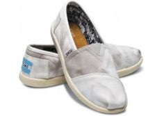Authentic Grey Pinted Youth Classics Toms Shoes Sale Amazing | Toms Classic Cord