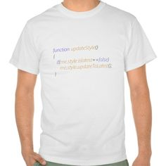 Update style program code javascript t-shirts T Shirt, Hoodie Sweatshirt