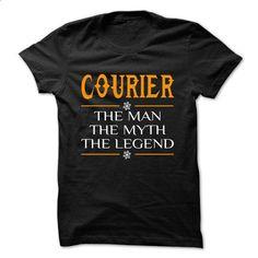 The Legen Courier ... - 0399 Cool Job Shirt ! - #custom sweatshirts #zip up hoodies. MORE INFO => https://www.sunfrog.com/LifeStyle/The-Legen-Courier--0399-Cool-Job-Shirt-.html?60505