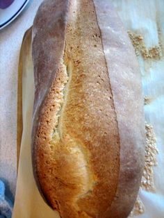 Italian bread to soak up all the extra sauce on my plate. I had made Italian bread once before, and it was very very good, but it also required a preferment, meaning that it had to sit overnight. So I went in search of a recipe that could