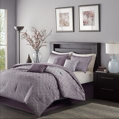Elegant Buy Purple Comforter Set Queen From Bed Bath U0026 Beyond