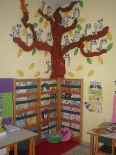 παιχνιδοκαμώματα στου νηπ/γειου τα δρώμενα: οργανώνοντας τη βιβλιοθήκη !!! The Kissing Hand, Books To Read, Reading Books, School Projects, Getting Organized, Crafts For Kids, Classroom, Organization, Education