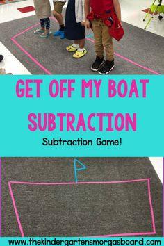 Subtraction Activities:  Get Off My Boat