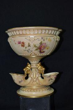 Royal Worcester Porcelain centerpiece